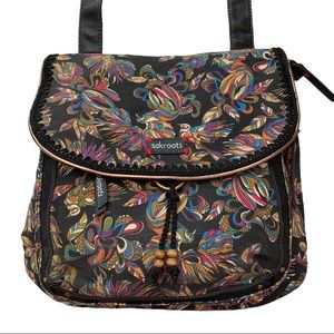 Sakroots Birds of Paradise Crossbody and Backpack